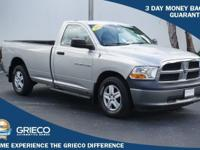 Just Reduced! Clean CARFAX. 2011 Ram 1500 ST in Bright
