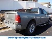 Mineral Gray Metallic 2011 Ram 1500 ST 4WD 5-Speed