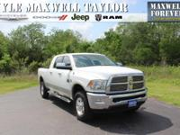 2011 RAM 2500 LARAMIE LONGHORN IN BRIGHT WHITE