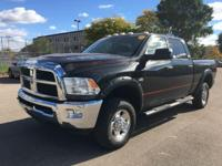 The RAM 2500 Crew Cab is a full-sized truck. Some specs
