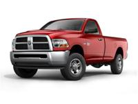 2011 Ram 2500 SLT 4WD Recent Arrival! White 6-Speed