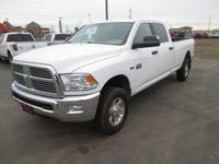 Options:  2011 Ram 2500 4 Wheel Drive Am/Fm