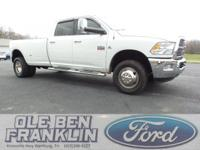 Options:  2011 Ram 3500 Laramie|White/|V6 6.7L