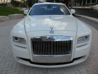The Rolls Royce Ghost is powered by a mammoth 6.6L twin