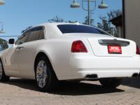 The 2011 Rolls-Royce Ghost is a RWD full-size luxury