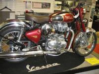 Make: Royal Enfield Year: 2011 Condition: New SOLD!