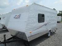 2011 RW Flyer design 18TT. This camper is 18' long.