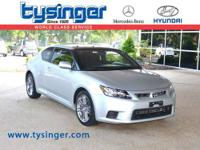 Cement Gray Scion tC FWD, 1-Owner, Check out the Clean