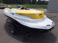 2011 Sea-Doo 150 Speedster, White/Yellow/Black. 1.5L
