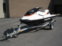 THIS MACHINE IS READY TO GO. 2011 SEA DOO GTI WITH ONLY
