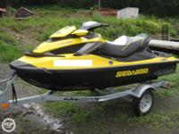 This 2011 Sea Doo RXT 260 3 seater resembles new with