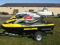 2011 SEA-DOO RXT-iS THREE RIDER WITH 260 HORSEPOWER