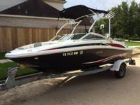 2011 Sea Ray 185 Excellent condition, ONLY 110 hours.