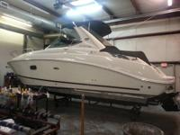 LIKE NEW 280 SEA RAY SUNDANCER LESS THAN 61 HOURS