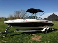 2011 Sea Ray Searay 205 Sport Bowrider_For a faster