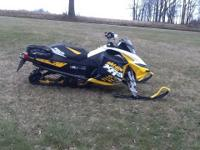 2011 ski doo mxz xrs 800 etec runs great low miles with
