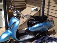 Engine Size 150cc Color: Blue Odometer: 20.6mi Cooling