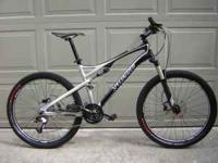 "2011 Specialized Epic Comp 26""mountain bike, size"