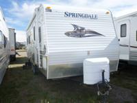 for sale is a 2011 24ft spring dale travel trailer has