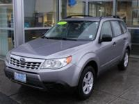 Steel Silver Metallic 2011 Subaru Forester 2.5X AWD