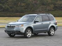 Recent Arrival! Marine Blue Pearl 2011 Subaru Forester