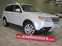 Very nicely equiped one owner AWD forester! Leather