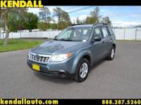 This is the 2011 Subaru Forester. This is a one owner