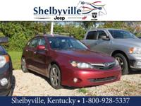 CARFAX One-Owner. Red 2011 Subaru Impreza Outback Sport