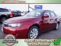 2011 Subaru Impreza Sedan 4dr Car 2.5i Our Location is: