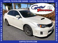 **ONLY 49K Miles** One-Owner Clean CARFAX. Satin White