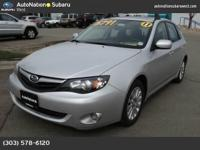 AutoNation Subaru West is excited to offer this 2011