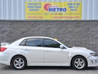 White 2011 Subaru Impreza WRX AWD!!! AWD 5-Speed Manual