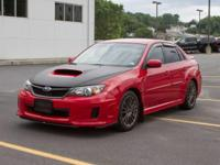 This 2011 Subaru Impreza Sedan WRX WRX Premium is