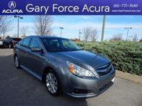 Our One Owner 2011 Subaru Legacy 2.5i in Gray is