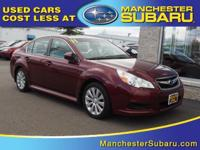 Get excited about the 2011 Subaru Legacy! Ensuring