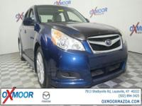 New Price! 2011 Subaru Legacy 2.5i 4-Wheel Disc Brakes,