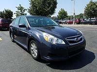 Get excited about the 2011 Subaru Legacy! Comprehensive