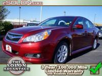 2011 Subaru Legacy 4dr Car Our Location is: Dave Solon