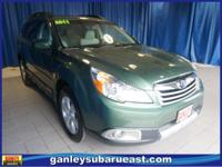 Subaru Outback 2.5i 2011 Cypress Green Pearl Bluetooth,