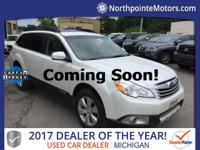 2011 Subaru Outback 2.5i CARFAX One-Owner. Clean