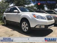 LOW MILEAGE 2011 SUBARU OUTBACK 2.5i LIMITED PWR MOON