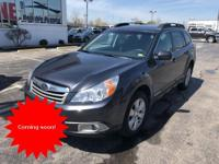 CARFAX One-Owner. Graphite Gray Metallic 2011 Subaru