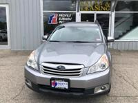 Take command of the road in the 2011 Subaru Outback!