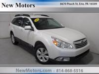 This 2011 Subaru Outback 2.5i Prem AWP is offered to