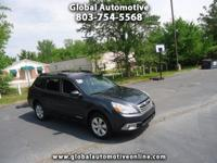 Options:  2011 Subaru Outback Awd One Owner Automatic