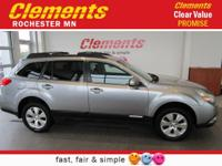 Options:  2011 Subaru Outback 4Dr Wgn H6 Auto 3.6R
