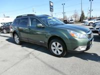 Exterior Color: green, Body: 4 Dr Wagon AWD, Engine: