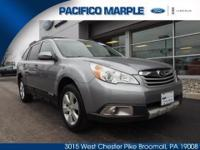 VTHIS 2011 SUBARU OUTBACK 2.5 LIMITED HAS SOME GREAT