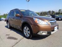 2011 Subaru Outback Limited 2.5i AWD wagon that is