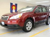 2011 SUBARU Outback All Wheel Drive, Power Steering,
